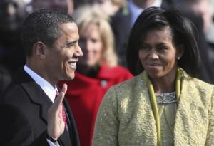 Barack Obama legt de eed af op 20 januari 2009