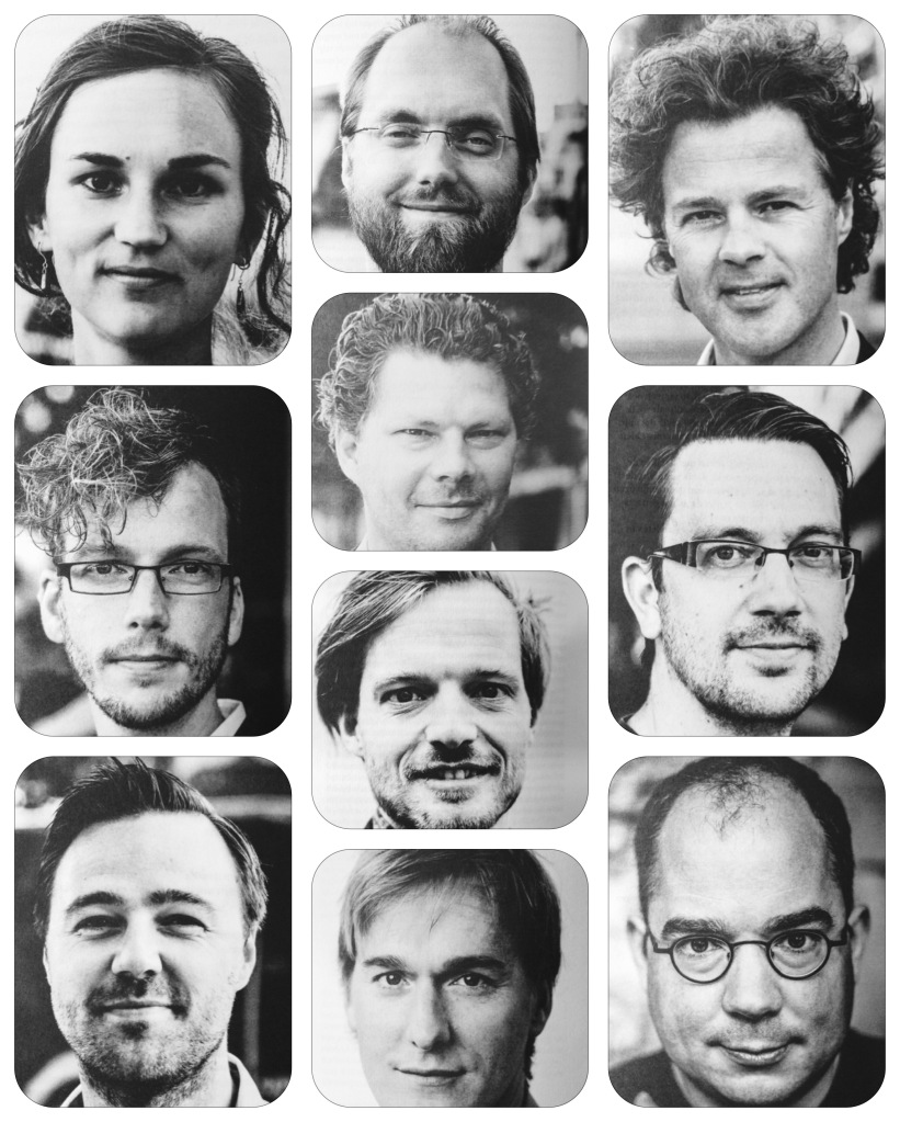 Compilatie portretten uit de bundel Vrijgemaakt?